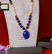 Load image into Gallery viewer, Grade A NC Pink Quarz and Lapis Lazuli