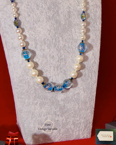 Grade C NC  Mallorca Pearls and Lampwork Beads