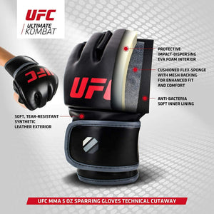 UFC Gloves Contender MMA 5oz