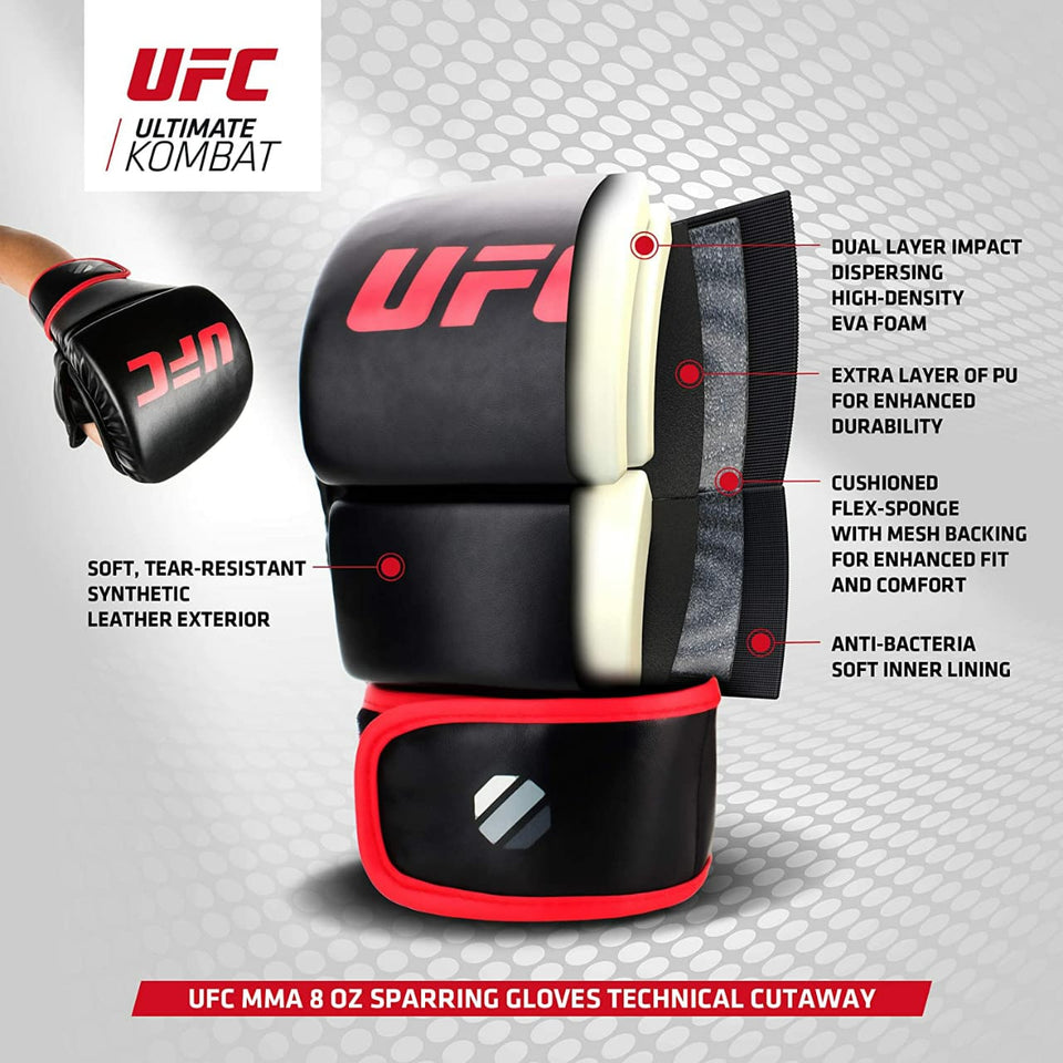 UFC Gloves Sparring Contender MMA 8oz