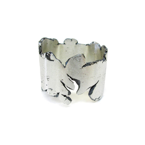 sterling silver ring by Seth Papac