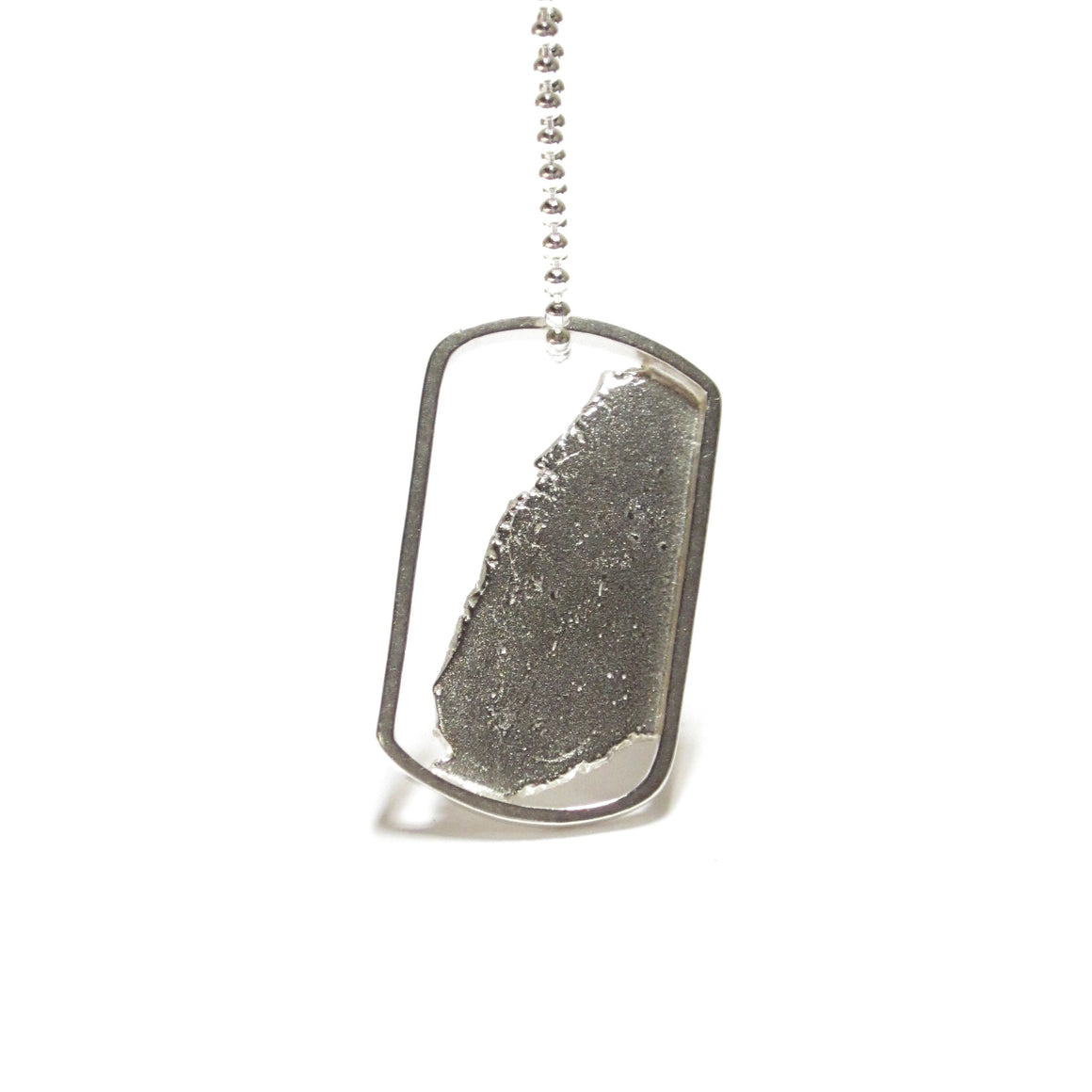 Seth Papac Torn In Tags - Small 18K Silver
