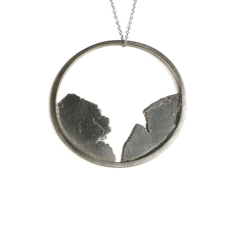 sterling silver pendant by Seth Papac
