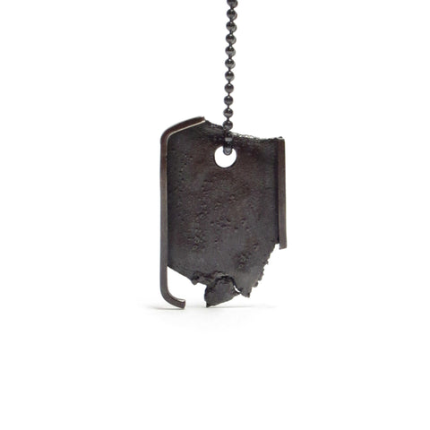 Seth Papac Torn Tag - Black