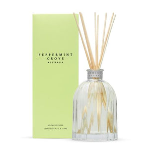 Peppermint Grove - LEMONGRASS & LIME LARGE DIFFUSER 350ML