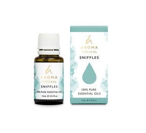 Aroma Natural Sniffles Essential Oil Blend 15ml