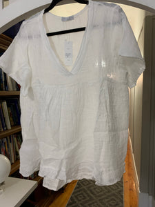 Ridley Daisy Top White