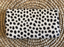 Load image into Gallery viewer, Bare Leather Moo Wallet - Snow Leopard