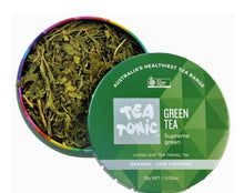 Load image into Gallery viewer, Tea Tonic Green Tea Loose Leaf Caddy Tin