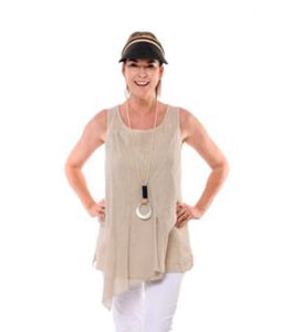 Imagine Fashion Elowen Top White, Blush & Latte