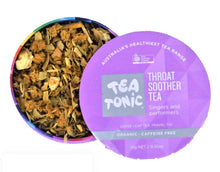 Load image into Gallery viewer, Tea Tonic Throat Soother Tea loose leaf caddy tin