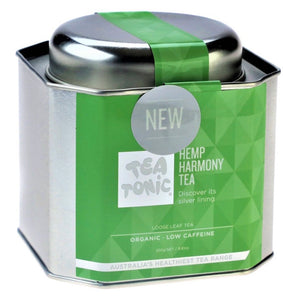 Tea Tonic Hemp Harmony Tea Loose Leaf Caddy Tin