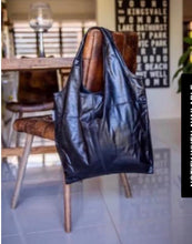 Load image into Gallery viewer, Bare Leather Bare Shopper Tote