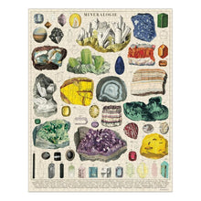 "Load image into Gallery viewer, 1000 pc Vintage Puzzle ""Mineralogy""- Cavallini - Lemon And Lavender Toronto"