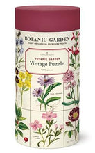 "Load image into Gallery viewer, 1000 pc Vintage Puzzle ""Botanic Garden"" - Cavallini"