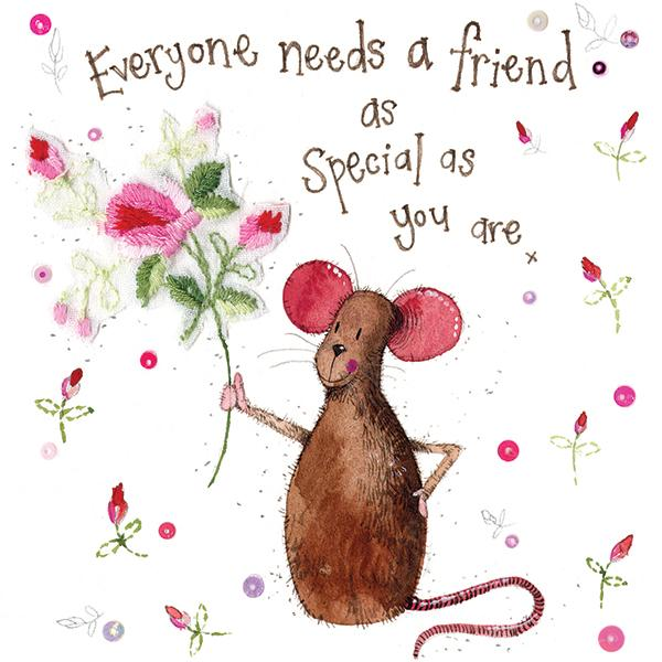 A friend as special as you - Large Card - Lemon And Lavender Toronto