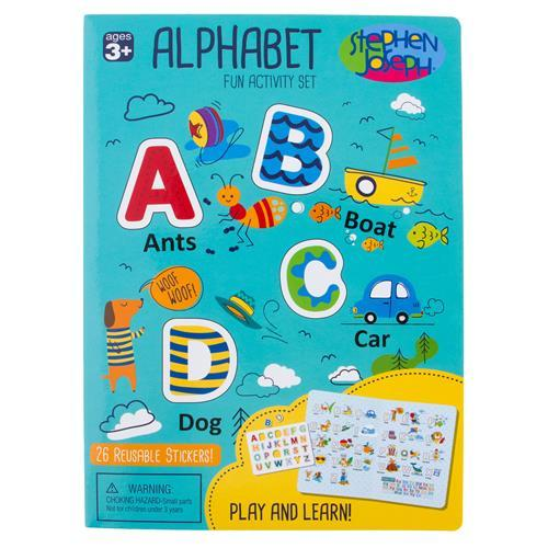 Alphabet Cling Play-board - Blue - Lemon And Lavender Toronto
