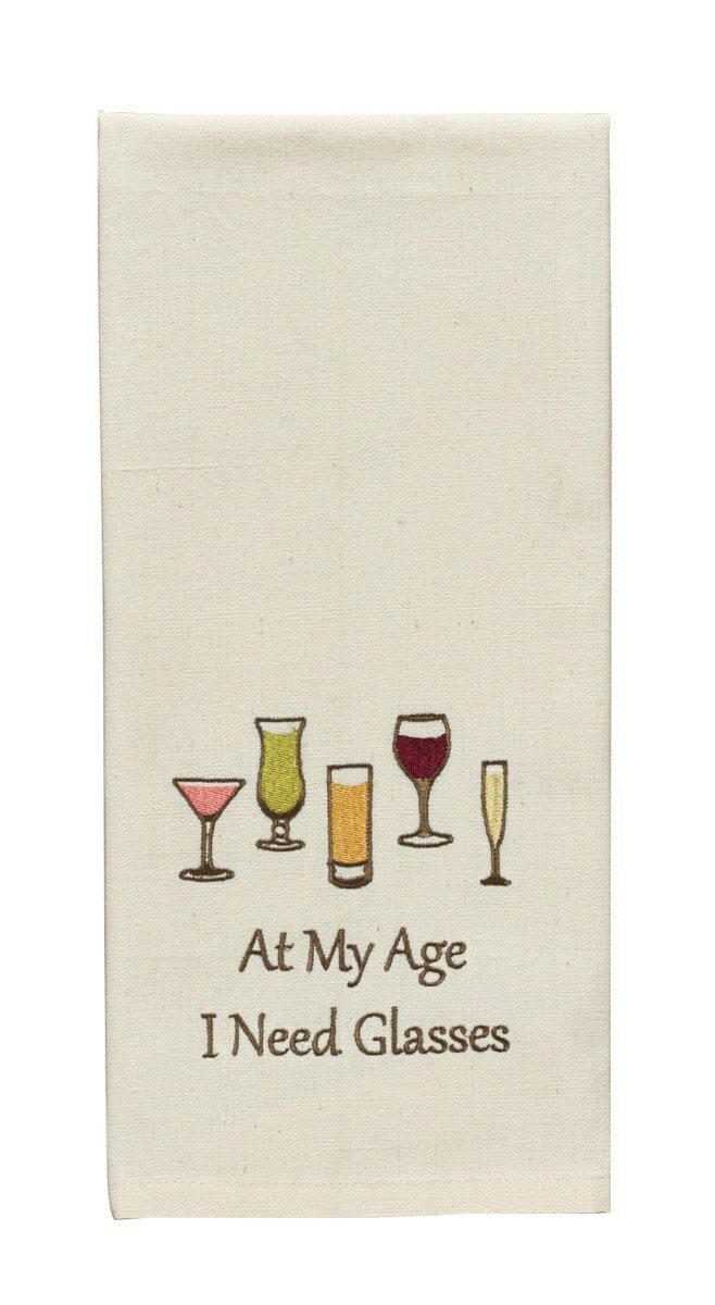 At My Age Tea Towel - Lemon And Lavender Toronto