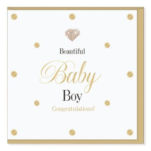 Baby Boy - New Baby Card - Lemon And Lavender Toronto