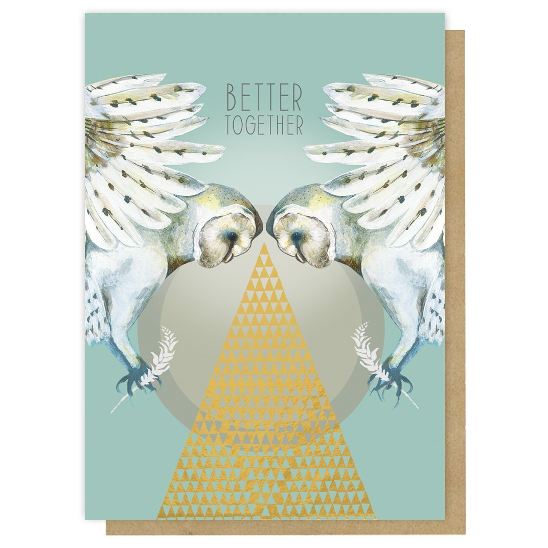 """""""Better Together"""" -Greeting Card"""