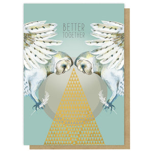 """Better Together"" -Greeting Card - Lemon And Lavender Toronto"