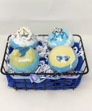 Load image into Gallery viewer, Blue Sea Theme Bath Bombs - Lemon And Lavender Toronto