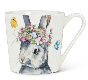 Bunny Mug with Flower Crown - Lemon And Lavender Toronto