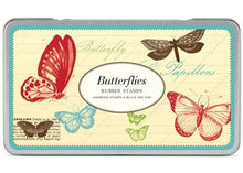 Load image into Gallery viewer, Butterflies Rubber Stamp Set - Lemon And Lavender Toronto