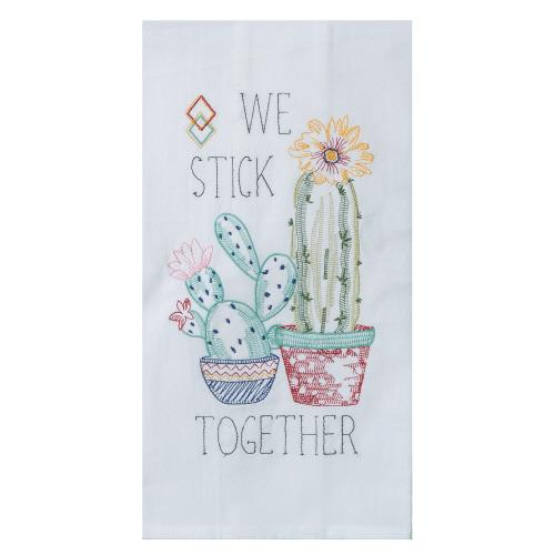 Cactus We Stick Together - Tea Towel - Lemon And Lavender Toronto