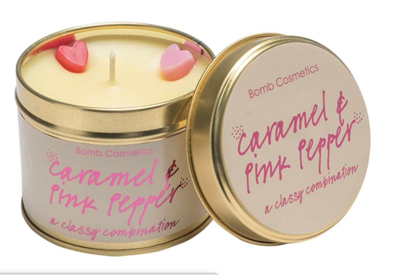 Caramel & Pink Pepper - Candle