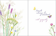 Load image into Gallery viewer, Celebrating Life Sympathy Card - Lemon And Lavender Toronto