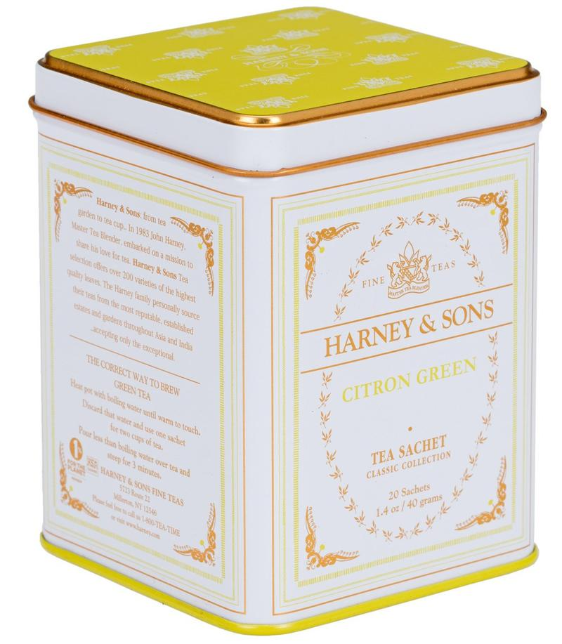 Citron Green 20 Sachet - Harney & Sons - Lemon And Lavender Toronto