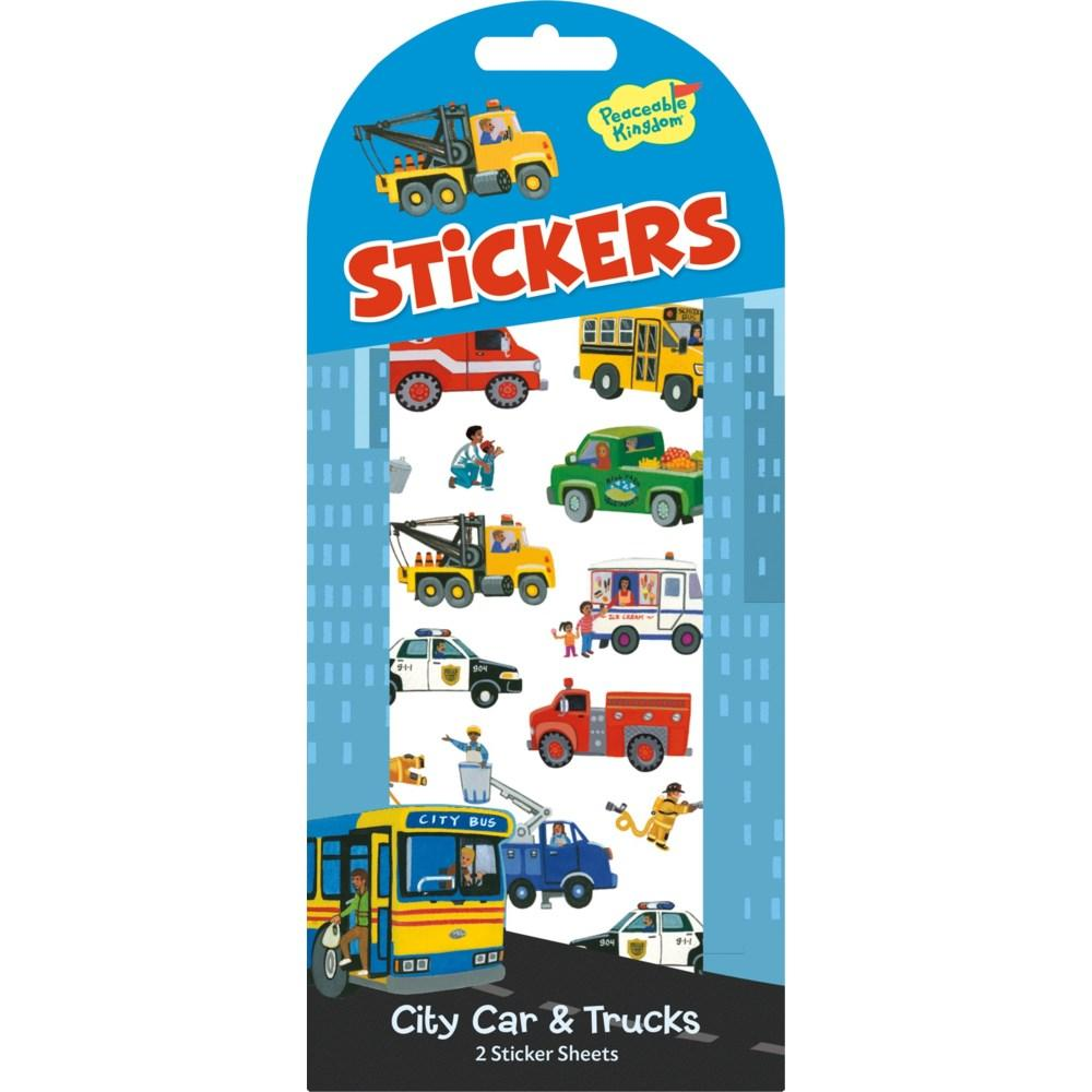 CITY CAR AND TRUCK STICKERS - Lemon And Lavender Toronto