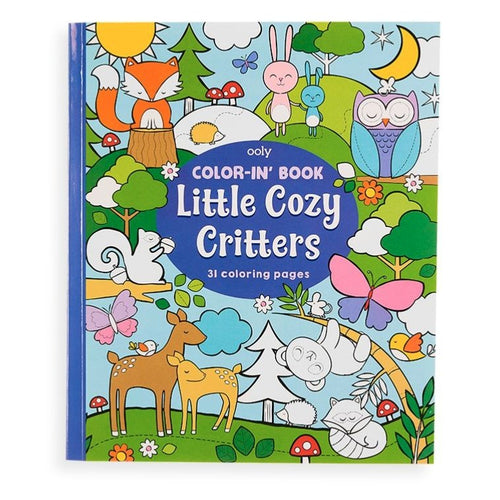 Color-in' Book: Little Cozy Critters - Lemon And Lavender Toronto