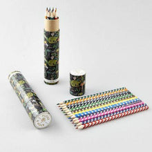 Load image into Gallery viewer, Coloured Pencils Tube - Dinosaur - Lemon And Lavender Toronto