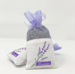 Cotton Sachets Dried Lavender | Pack of 2 - Lemon And Lavender Toronto