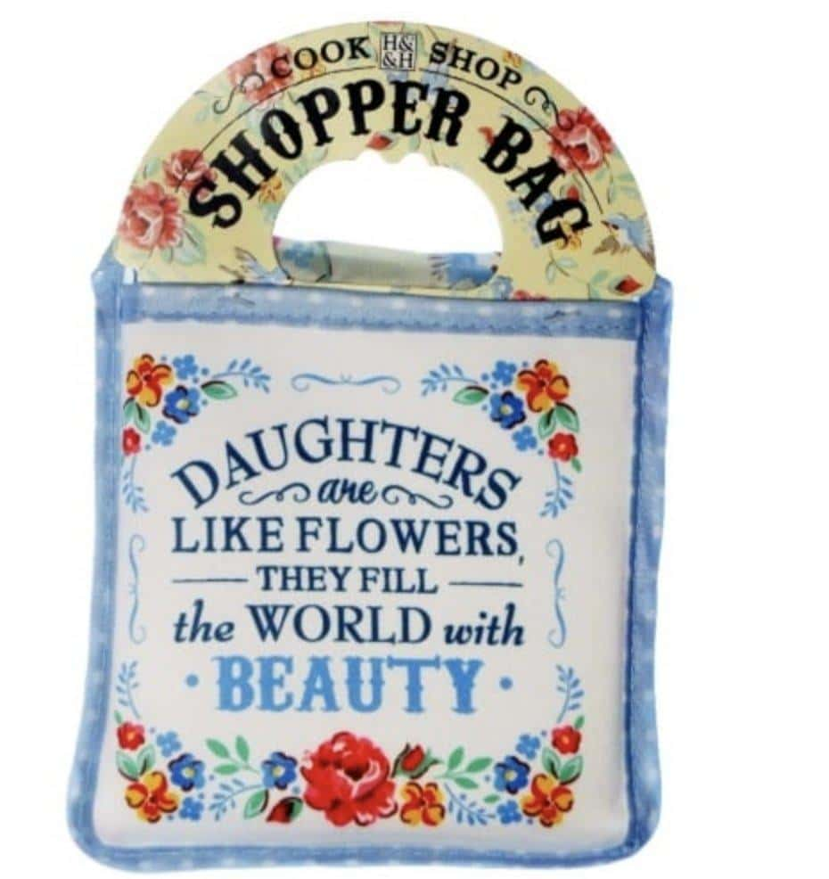 Daughters are like Flowers - Reusable Shopping Bag - Lemon And Lavender Toronto