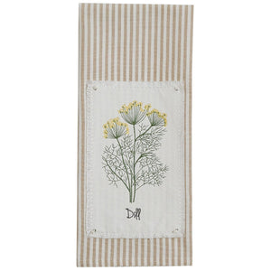 Dill Tea Towel - Lemon And Lavender Toronto