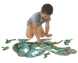 Dinosaur Floor Puzzle - Lemon And Lavender Toronto