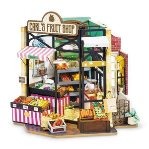 DIY Miniature Carl's Fruit Shop with LED light - Lemon And Lavender Toronto