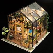 Load image into Gallery viewer, DIY Miniature Greenhouse with LED light - Lemon And Lavender Toronto