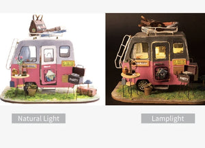 DIY Miniature - Happy Camper - Lemon And Lavender Toronto
