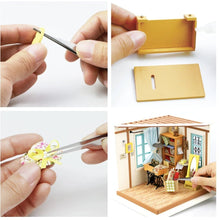 Load image into Gallery viewer, DIY Miniature with LED light- Tailor - Lemon And Lavender Toronto
