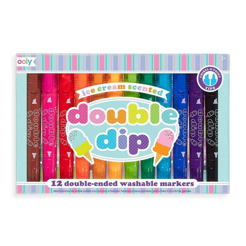 Double Dip Scented Chunky Double Ended Markers - Lemon And Lavender Toronto
