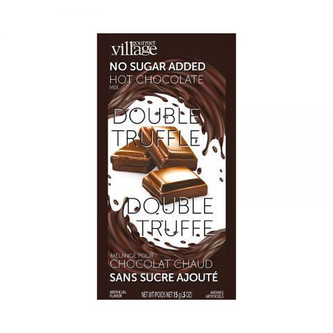 Double Truffle NO SUGAR ADDED Hot Chocolate - Pack of 2 - Lemon And Lavender Toronto