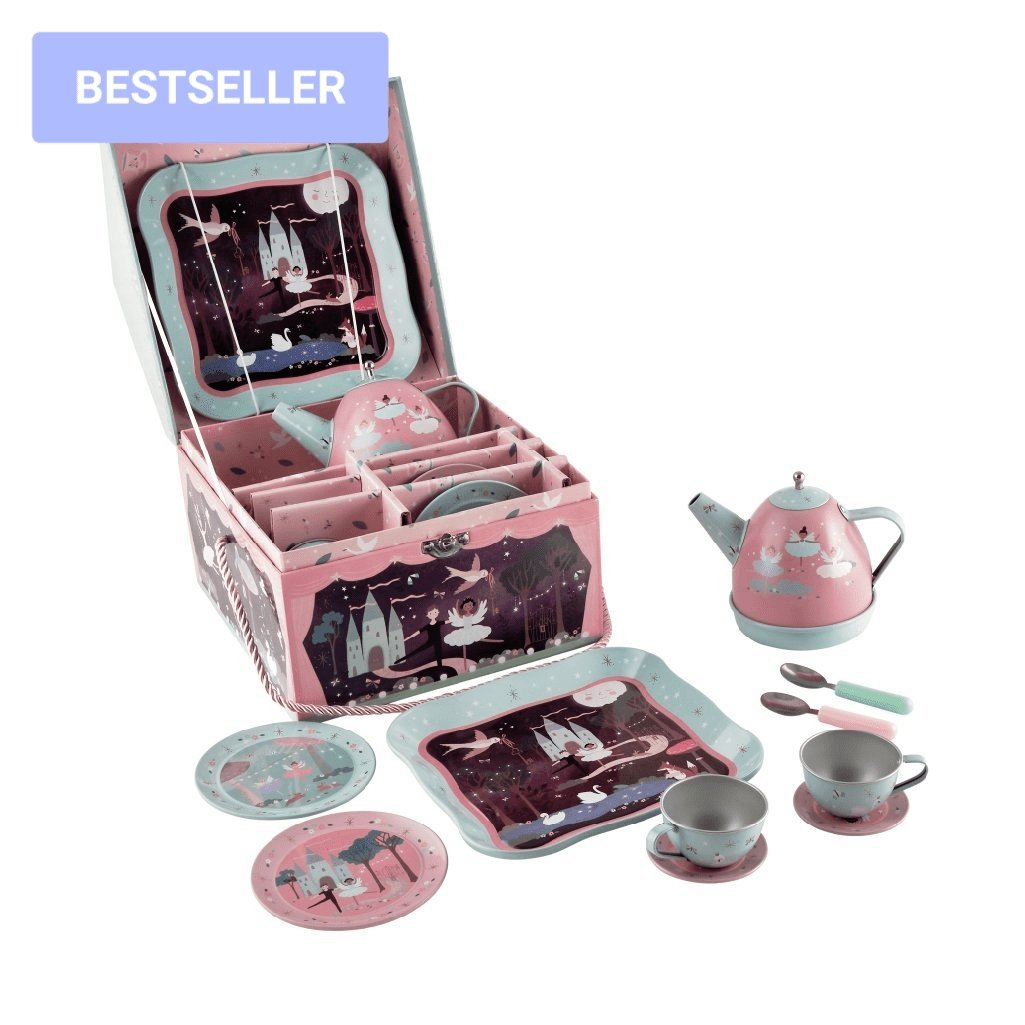 Enchanted MUSICAL Tin Tea Set - Lemon And Lavender Toronto