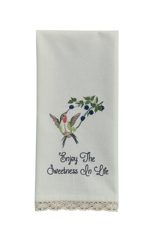 Enjoy the Sweetness Tea Towel - Lemon And Lavender Toronto