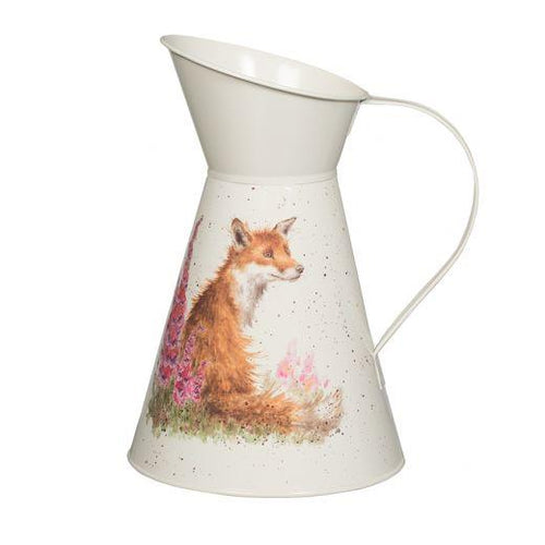 Fox Flower Jug - Wrendale - Lemon And Lavender Toronto