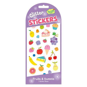 FRUITS & SWEETS GLITTER STICKERS - Lemon And Lavender Toronto