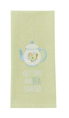 Get this Par-tea Started Tea Towel - Lemon And Lavender Toronto